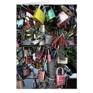 Love locks (Liebesschlösser) Card