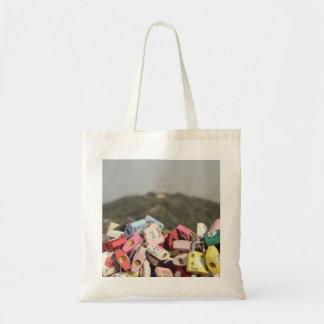Love Locks Seoul Canvas Bags