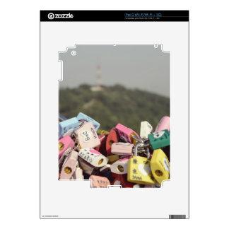 Love Locks Seoul iPad 2 Skins