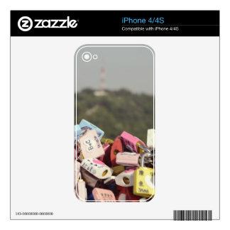 Love Locks Seoul iPhone 4S Skins