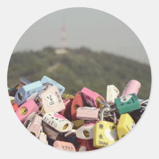 Love Locks Seoul Sticker