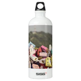 Love Locks Seoul Water Bottle
