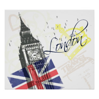 Love London Poster