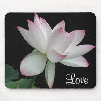 Love Lotus Flower Mousepad