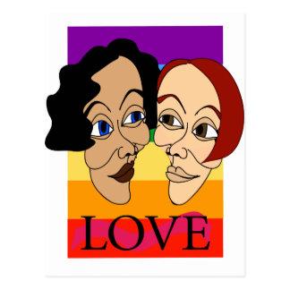 Love (Louisa & Suzanne) Postcard