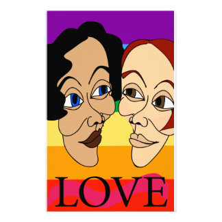 Love (Louisa & Suzanne) Stationery