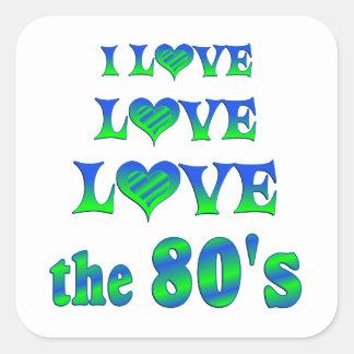 Love Love 80s Stickers