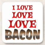 Love Love BACON Coaster