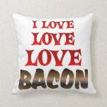Love Love BACON Pillows