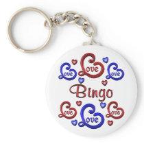LOVE LOVE Bingo Keychain
