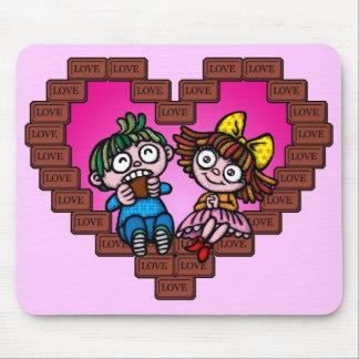 love love choco mousepads