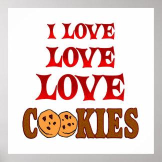 Love Love Cookies Posters
