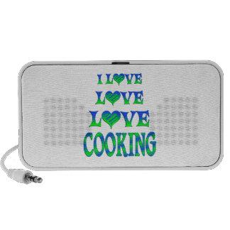 Love Love Cooking Portable Speakers