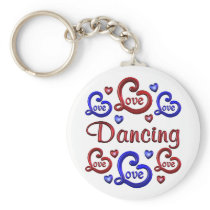 LOVE LOVE Dancing Keychain