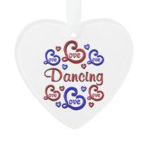 LOVE LOVE Dancing Ornament