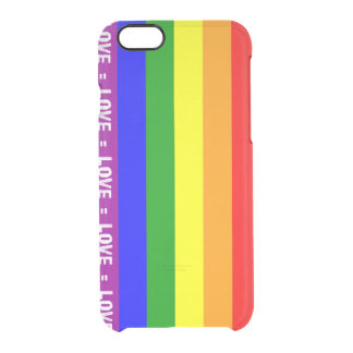 Love = Love iPhone 6/6s Clearly™ Deflector Case