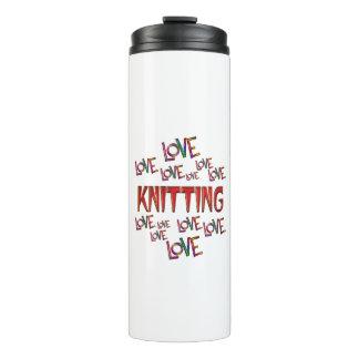 Love Love Knitting Thermal Tumbler