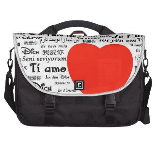 Love Love Laptop Computer Bag