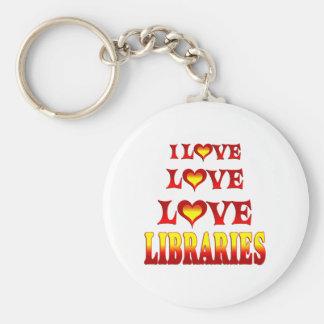 Love Love Libraries Keychains