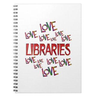 Love Love Libraries Notebook