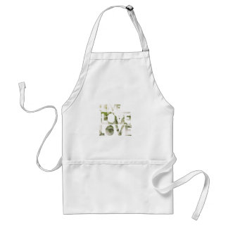 Love Love Love Adult Apron