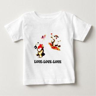 Love-Love-Love Baby T-Shirt