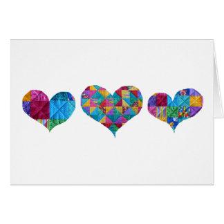 """""""Love Love Love""""  Card"""