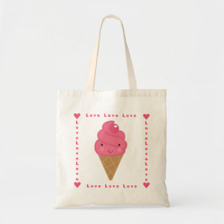 Love Love Love Cherry on Top Budget Tote Bag