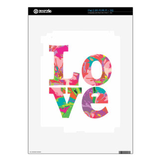 LOVE Love Love Decal For iPad 2