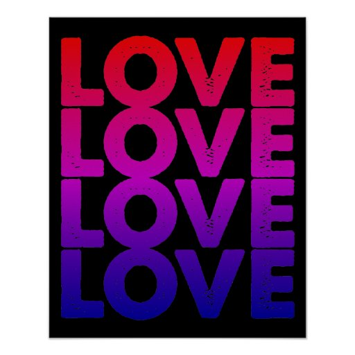 LOVE LOVE LOVE LOVE PRINT