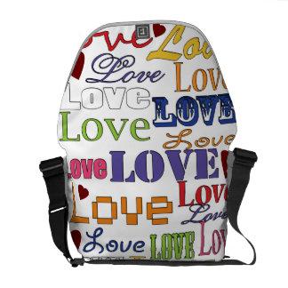 Love Love Love Commuter Bag