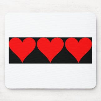 Love Love Love Mousemats