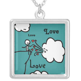 Love, Love, Love Neclace Custom Jewelry