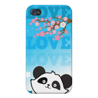 love love love panda  cases for iPhone 4
