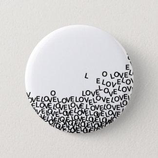 love love love pinback button