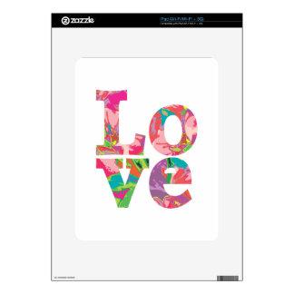 LOVE Love Love Skins For iPad