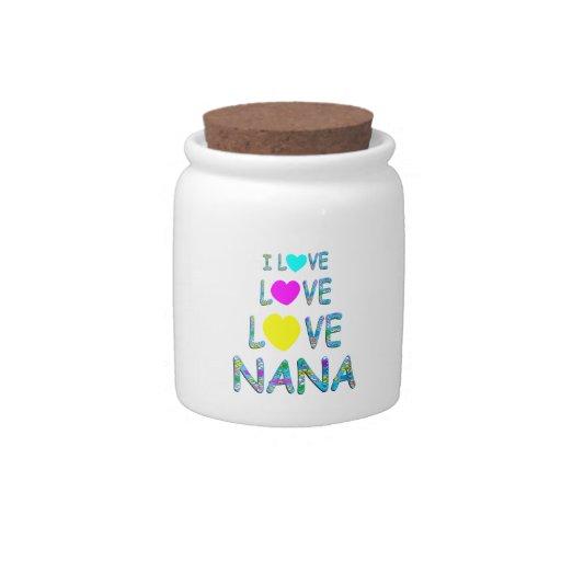 Love Love Nana Candy Jar