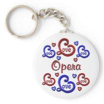 LOVE LOVE Opera Keychain
