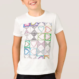 Love Love Pattern T-Shirt