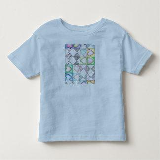 Love Love Pattern Toddler T-shirt