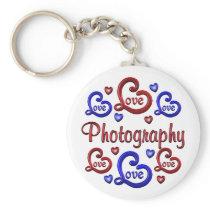 LOVE LOVE Photography Keychain