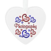 LOVE LOVE Photography Ornament