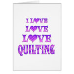 Love Love Quilting Cards
