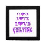 Love Love Quilting Jewelry Box