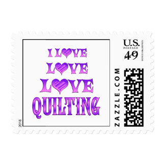 Love Love Quilting Postage
