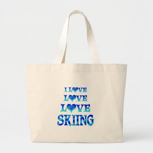 Love Love Skiing Bag