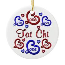 LOVE LOVE Tai Chi Ceramic Ornament