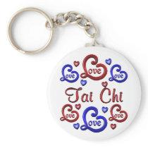 LOVE LOVE Tai Chi Keychain