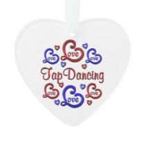 LOVE LOVE Tap Dancing Ornament