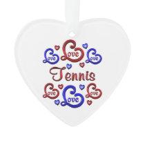LOVE LOVE TENNIS ORNAMENT